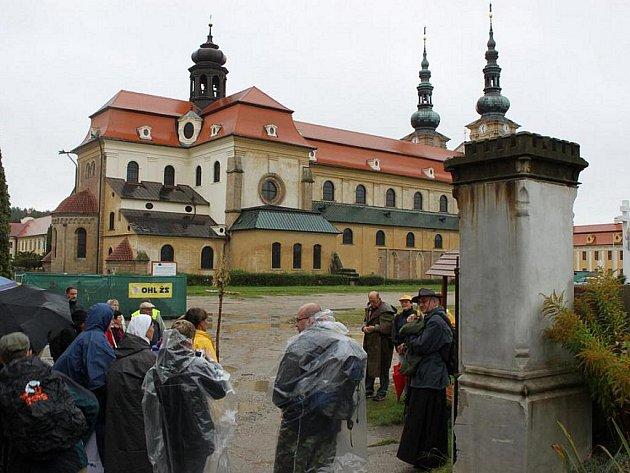 Velehradská bazilika. Ilustrační foto.