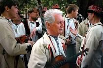 Antonín Vlk fotografoval i primáše Martina Hrbáče (na snímku).