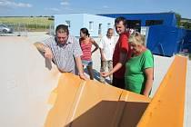 Účelem nového sběrného dvora v Horním Němčí je také v maximální možné míře třídit odpady.