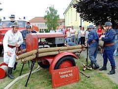 Sbor dobrovolných hasičů z Topolné.