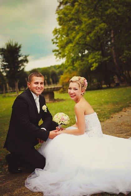 Soutěžní svatební pár číslo 184 - Marie a Jiří Doleželovi, Holešov