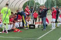 Trenér fotbalistů Uherského Brodu Martin Onda po utkání v Novém Meste nad Váhom rozhodně spokojený nebyl