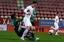 Zápas 14. kola FORTUNA:LIGY 1. FK Příbram - Slovácko 0:3.