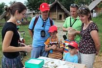 Děti i dospělí si při kvízech ověřili, jaké jsou jejich znalosti o stromech, rostlinách a zvěři.