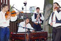 Cimbálová muzika Stanislava Gabriela z Babic.