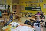 Školáci v Dolním Němčí - 25. 5. 2020