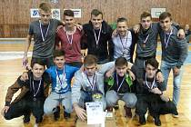 Dvě medaile přivezli z republikového Superfinále Středoškolské futsalové ligy 2016-2017 zástupci hradišťského okresu.