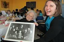 Sté narozeniny Marie Kašíkové z Březolup