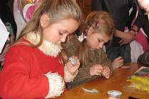 Děti z křesťanské mateřské školy.