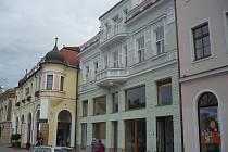 Masarykovo náměstí v Uherském Hradišti. Ilustrační foto.