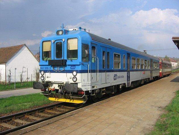 Součástí Vlárské dráhy je také železniční zastávka v Šumicích