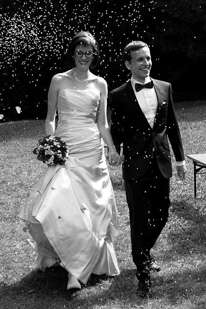 Soutěžní svatební pár číslo 126 - Petra a Jan Zmeškalovi, Přerov
