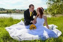 Soutěžní svatební pár číslo 59 - Hana a Tomáš Hasmandovi, Napajedla.