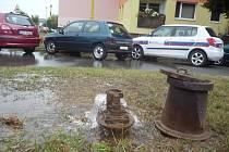 Kvůli havárii na vodovodním řadu se domácnosti na sídlišti Východ i přilehlém okolí ocitli bez vody