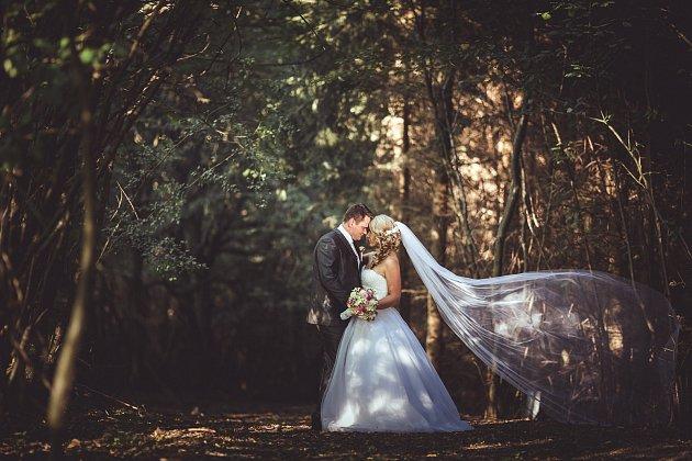 Svatební soutěžní pár číslo 192 - Simona a Radim Vrbovi, Šumice