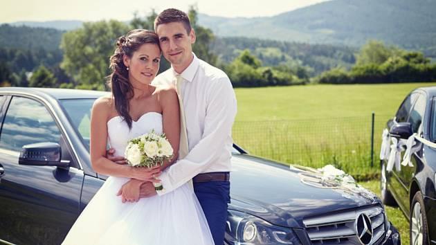 Soutěžní svatební pár číslo 126 - Iveta a Tomáš Vápeníkovi, Bojkovice