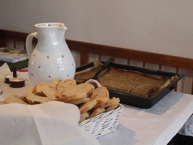 Recept na Bramborový prejt (pekla sama organizátorka Veronika Friedlová)