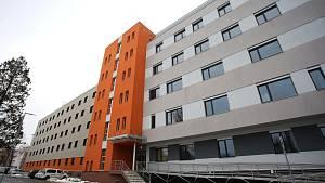 Nová budova interny v Uherskohradišťské nemocnici