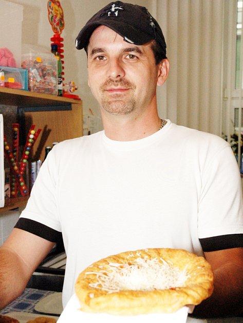 Vladan Hubík podniká v pohostinství už devět let.