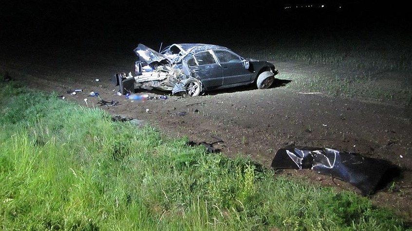 Nehoda osobního auta u Ostrožské Lhoty