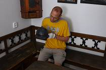 Padlé z obou stran první světové války je nutné si připomínat, říká ředitel Muzea Bojkovska Tomáš Hamrlík