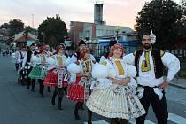 Vsoukolí hodového kolotoče na Slovácku se o víkendu ocitly i Traplice.