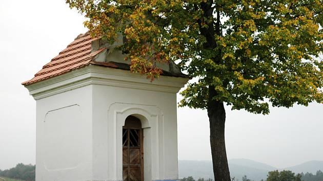 Kaplička v Osvětimanech.