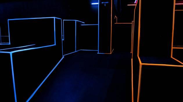 Laser aréna. Ilustrační foto.