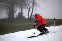 Ski areál Stupava je ve Zlínském kraji. Ilustrační foto
