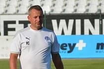 Trenér fotbalistů Slovácka Martin Svědík.