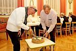 Rekordman ze Slovácka: během 35 let Rostislav Juřička (na snímku vlevo) absolvoval pět tisíc dialýz.