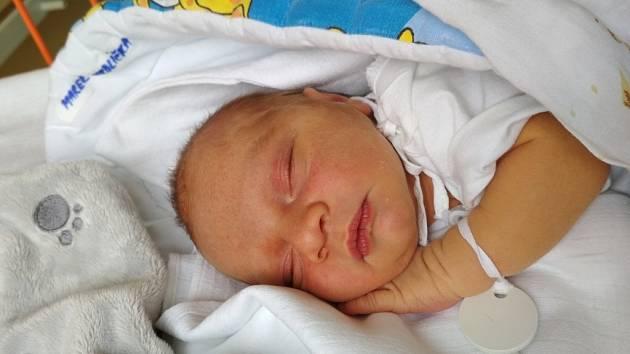 MAREK HRDLIČKA, 27.5.2019, 3140 g a 48 cm, bydlí v Sušici, narozen v Uherském Hradišti