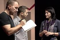 Zleva: Kamil Pulec, David Vaculík a Pavlína Hejcmanová.