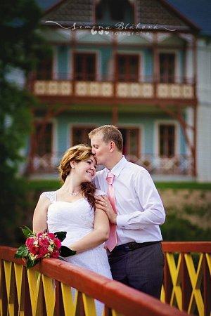 Soutěžní svatební pár číslo 150 - Vladimír a Veronika Večeřovi, Dolní Lhota uLuhačovic