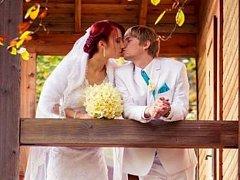 Soutěžní svatební pár číslo 49 – Andrea a Robert Jančíkovi, Zborovice