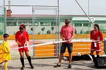 Slavnostní otevření sportovního komplexu v Traplicích
