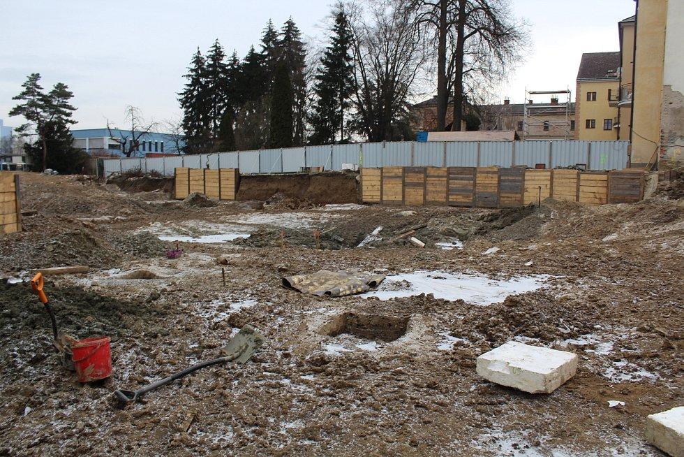 Archeologové v Hradišti narazili na bohaté naleziště z dob třicetileté války