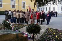 V Hradišti si připomněli vznik samostatného Československa