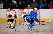 Hokejisté Uherského Ostrohu porazili Blansko 7:2.
