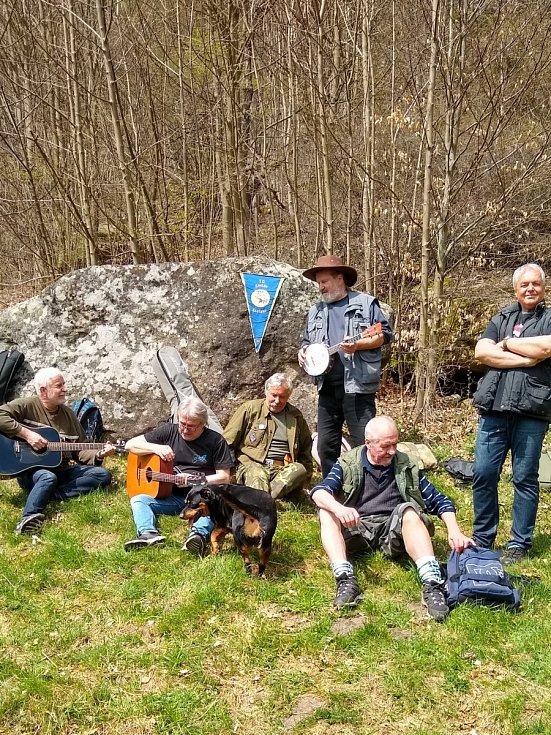 Setkání na Pulčinských skalách po padesáti letech.