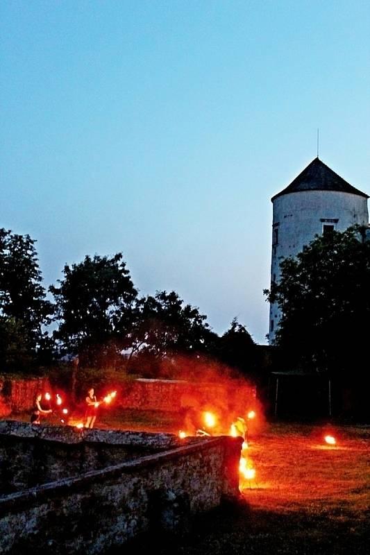 Buchlovské noci černou paní na hradě Buchlově, 23. a 24. července 2021