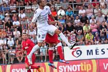 Kanonýr Slovácka Libor Došek věří, že si díky gólu proti Brnu vylepší své střelecké maximum.