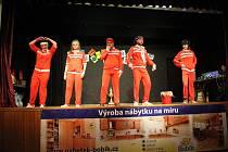 V Hluku opět po roce oceňovali sportovce města. Prvenství obhájil kolektiv florbalistů, jednotlivcům nově kraluje hráčka stolního tenisu Monika Vybíralová.