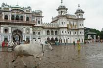 Palác Síty z předního pohledu