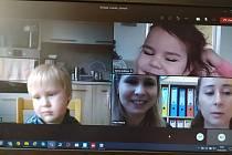 On-line mateřská škola v Nivnici.