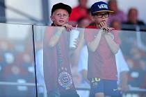 Dětské publikum bude ve čtvrtek na Spartě tvořit při pohárovém utkání drtivou většinu.