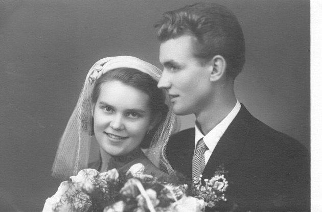 Soutěžní svatební pár číslo 204 - Květoslava a Jan Molčíkovi, Zlín