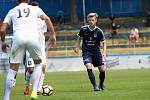 Fotbalový talent Patrik Hellebrand v létě odešel ze Zlína do Uherského Hradiště, kde bojuje o místo v prvoligovém kádru.