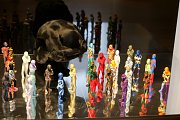 Výstava Textile art of todey ve Slovácké galerii. June Lee - Korea
