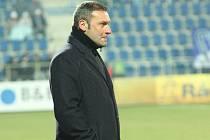 Uherské Hradiště Fotbal Synot Liga 1. FC Slovácko - FK Jablonec.  Svatopluk Habanec.